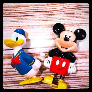 Disney Mickey and Donald Wind-Up Toys ❤️